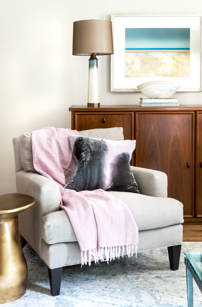 Silk Throw Pillow Living Room Transitional with Accent Lamp Accent Table