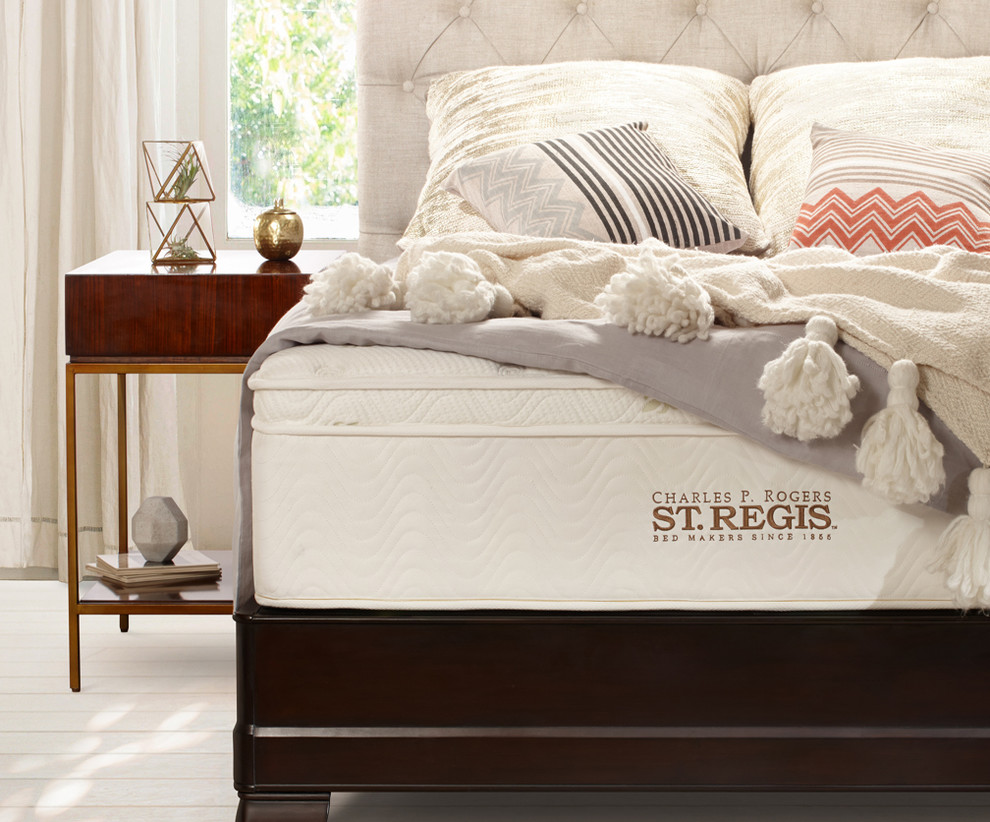 Sleep Innovations Gel Memory Foam Classic Pillow Bedroom Transitional with Charles P Rogers St