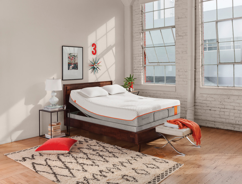 Tempur Pedic Pillow Bedroom Modern with Adjustable Bed Bad Back3