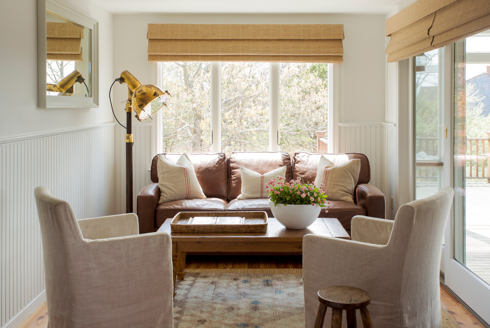 Throw Pillows for Couch Cheap Family Room Beach with Bamboo Shades Beadboard Wainscoting