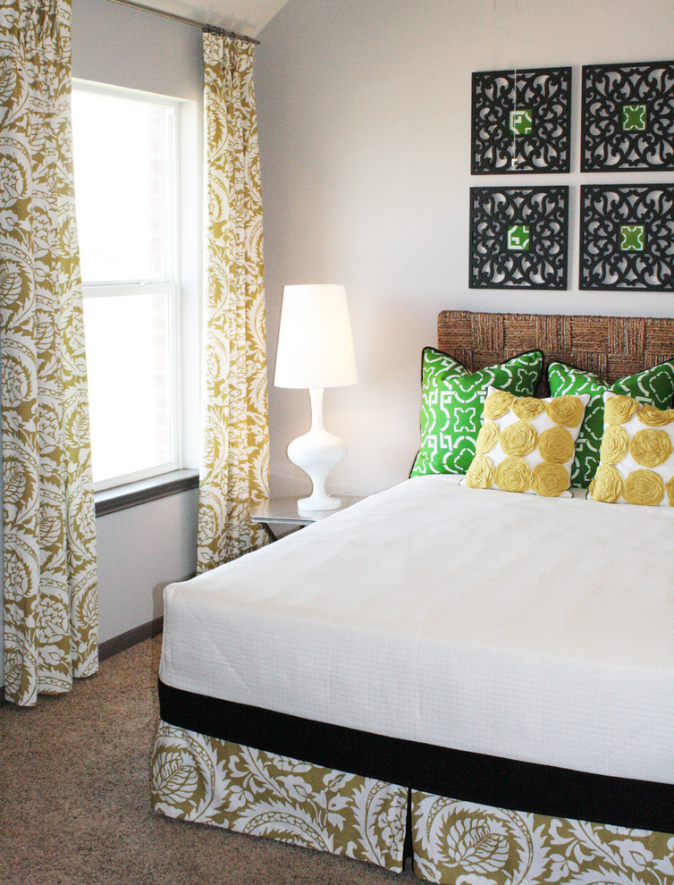 Toss Pillows Covers Bedroom Eclectic with Bed Pillows Bedside Table
