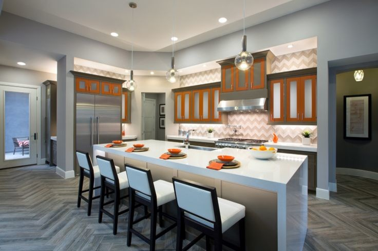 Toss Pillows Covers Kitchen Modern with Artistic Tile Hand Carved