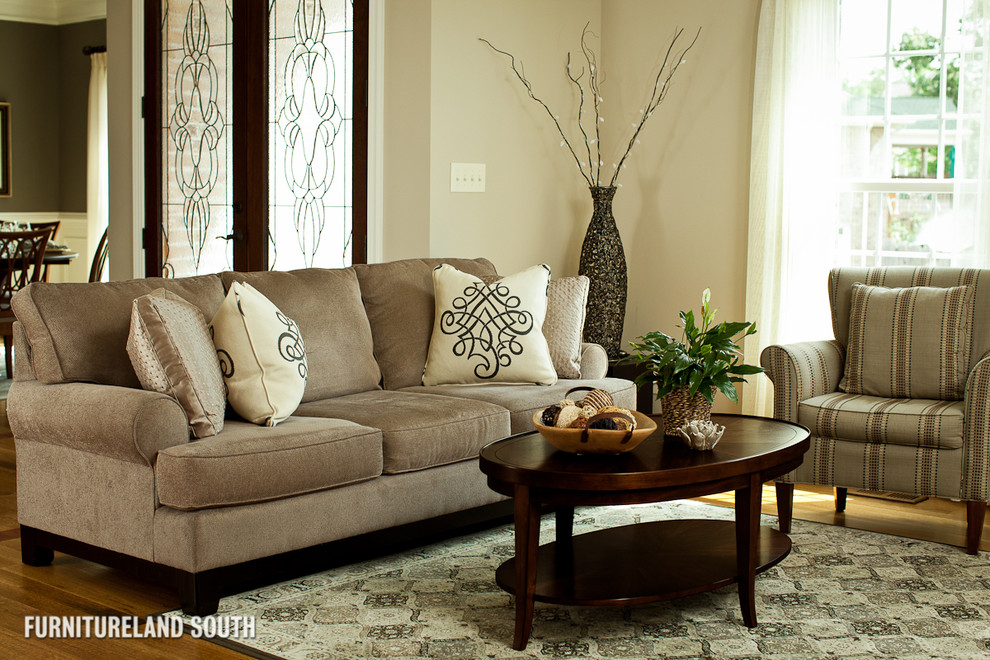 Toss Pillows for Sofa Spaces Traditional with Accent Color Anchoring Anchoring