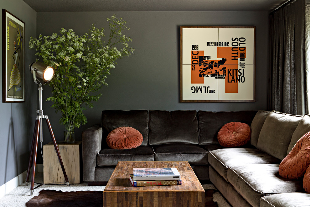 Velvet Decorative Pillows Family Room Contemporary with Bold Graphic Contemporary Cowhide