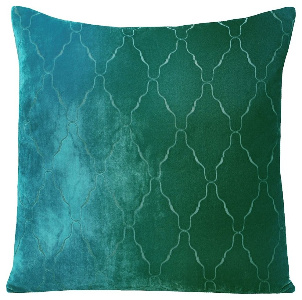 Velvet Decorative Pillows Spaces Modern with Decorative Pillows Hand Dyed2