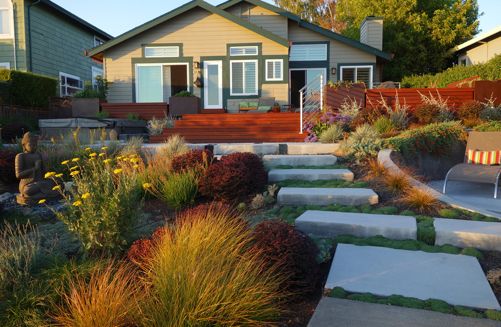 Vrbo Berkeley Ca Landscape Contemporary with Beautiful Garden Design Buddha