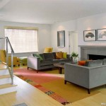 Bernhardt Sofa  Contemporary Living Room with Multiple Seating Areas