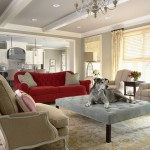 Bernhardt Sofa  Traditional Living Room with Accessories