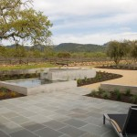 Bluestone Pavers  Modern Landscape with Terrace