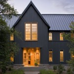 Board and Batten Siding  Transitional Exterior with Appalachian Mountain Home