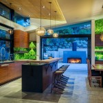 Bocce Ball Court  Contemporary Kitchen with Natural Light