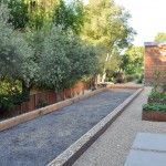 Bocce Ball Court  Contemporary Landscape with Contemporary