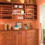 Charging Station Organizer  Rustic Kitchen with Terra Cotta Tile