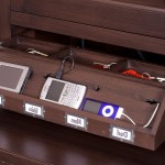 Charging Station Organizer  Traditional Home Office with Custom