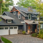 Cornice Boards  Rustic Exterior with Waterfront