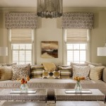 Cornice Boards  Transitional Family Room with Throw Pillows