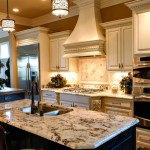 Delicatus Granite  Traditional Kitchen with Kitchen Hardware