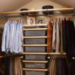 Elfa Closet  Traditional Closet with Hanging Clothes Storage