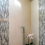 Epoxy Grout  Contemporary Bathroom with Wall Tile Design