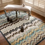 Feizy Rugs  Contemporary Living Room with Aqua