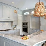Gray Owl Benjamin Moore  Traditional Kitchen with Gray Cabinets