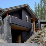 Hardiplank  Contemporary Exterior with Exposed Beams