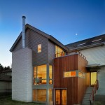 Hardiplank  Contemporary Exterior with Randall Mars Architects