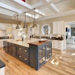 Kilim Beige  Beach Style Kitchen with Open Kitchen