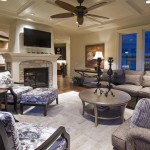Kilim Beige  Traditional Family Room with Decorative Pillows