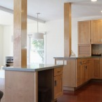 Kraftmaid Cabinets  Contemporary Kitchen with Great Room