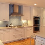 Kraftmaid Cabinets  Contemporary Kitchen with White