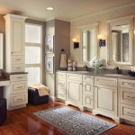 Kraftmaid Cabinets  Traditional Bathroom with Cabinetry