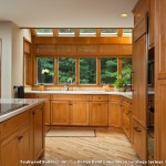 Kraftmaid Cabinets  Traditional Kitchen with Teak Wood