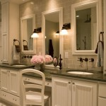 Lowes Bathroom Vanities  Traditional Bathroom with Subway Tiles
