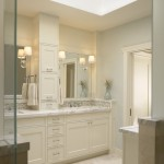 Lowes Bathroom Vanities  Traditional Bathroom with Wood Paneling