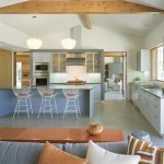 Mid Century Modern  Contemporary Kitchen with Eat in Kitchen