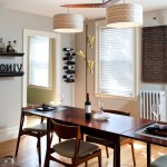 Mid Century Modern  Midcentury Dining Room with Wine Accessories
