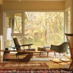 Mid Century Modern  Midcentury Living Room with Global Layers