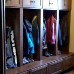 Mudroom Lockers  Traditional Closet with Mudroom Storage Lockers Bootbench Medall