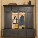 Mudroom Lockers  Traditional Entry with Boot Benches