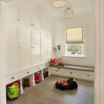 Mudroom Lockers  Traditional Entry with Sports Equipment