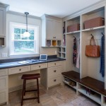 Mudroom Lockers  Transitional Entry with Cubbies