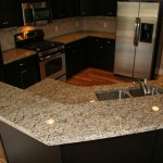 New Venetian Gold Granite  Traditional Kitchen with Traditional