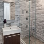 Simons Hardware  Contemporary Bathroom with Shower Tile