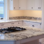 Super White Quartzite  Traditional Kitchen with Granite Kitchen Island