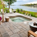 Techo Bloc  Contemporary Patio with View