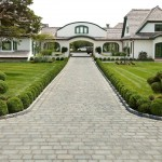 Techo Bloc  Traditional Landscape with Patio Design
