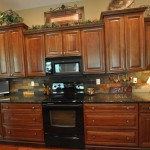 Uba Tuba Granite  Traditional Kitchen with Traditional